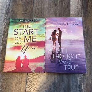 Young Adult Romance Fiction Book Bundle